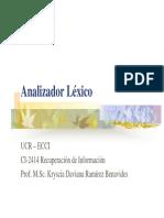 Analizador Lexico