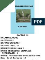 Bahan Kuliah Drainase Perkotaan