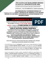 LLAMAMIENTO N° 2 FNTMMSP (1)