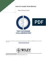 Rinitis Atrofica Cochrane