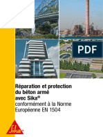 Fr Reparation Protection Beton Arme Avec Sika