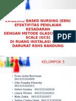 Evidence Based Nursing (Ebn) Igd