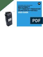 Manual Mototrbo Xir p8668 Xir p8660 Gp338d Colour Display (Apac)