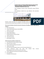 Pedoman Pendirian Unit Sekolah Baru Berdasarkan Keputusan Menteri Pendidikan Nasional Nomor 060