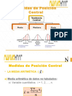 Medidas de Posición Central y No Central