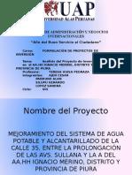 Proyecto de Inversion Piura-Peru