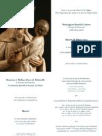 Ordination sacerdotale de Martin de Hédouville