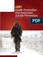 Health Promotion, Risk Reduction, Suicide Prevention