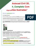Curso Autocad Civil 3D | Apostilas Ilustradas AutoCAD Civil 3D _ FRETE GRÁTIS!