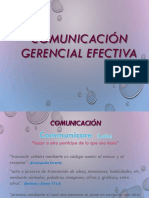 Comunicacion Gerencial Efectiva