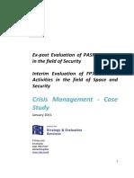 Crisis Management Case Study Cses En