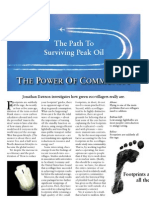 The Power of Community - the path to surviving Peak Oil