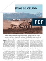 Ecoliving in Iceland
