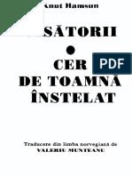 Knut Hamsun - Visătorii. Cer de toamnă înstelat.pdf