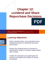 SLIDE CHINH SACH CỔ TỨC - Slideshare.vn Lecture Business Finance Chapter 12 Dividend and Share Repurchase Decisions