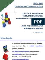 Objetos de aprendizagem na educação matemática