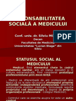 Responsabilitatea sociala a medicului.ppt