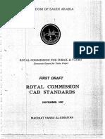 Royal Commission CAD Standards