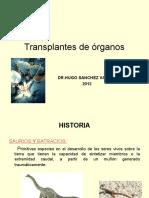 Transplante de Organos