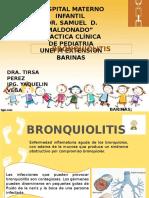 Bronquiolitis y Coqueluche