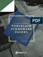 Porcelain Stoneware Pavers