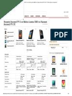 Huawei Ascend P1 S vs Nokia Lumia 900 vs Huawei Ascend P1 LTE - Phone Specs Comparison
