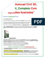 Autocad Civil 2010 | Curso AutoCAD Civil _ Apostilas Ilustradas + de 10.900 Páginas! FRETE GRÁTIS!!!