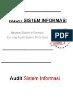 05 Review Dan Konsep Audit Sistem Informasi