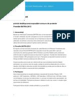 Regulament Premiile BATRA 2013