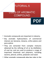 The Uses of Aromatic Compound