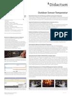 Didactum Outdoor Sensor Temperatur