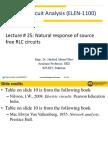 Lecture # 25 ELEN-1100