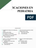 Dosificaciones en Pediatria 20123