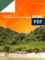 Kecamatan Rebang Tangkas Dalam Angka 2016