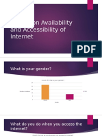 Survey on Availability and Accessibility of Internet Question 1 Digital