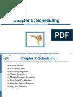 Week 05 Scheduling
