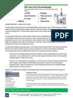 Calidus 201 Micro Gas Chromatograph Fal003