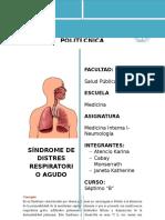 Sindrome de Distres Respiratorio 1