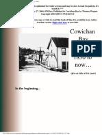 Cowichan Bay History