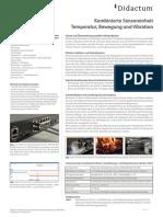 Didactum Kombinierter Bewegungs-, Erschütterungs- und Temperatursensor