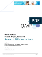 QMP Practical Instruction