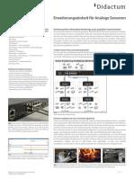 Didactum Sensoreinheit Temperatur, Luftfeuchtigkeit und Rauch