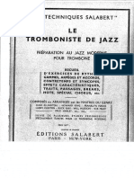 Le Tromboniste de Jazz