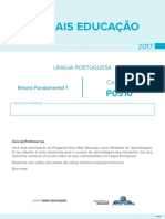 Caderno de Teste de Língua Portuguesa – Ensino Fundamental 1 - p0510