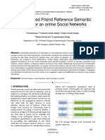 A Logic-based Friend Reference Semantic System for an online Social Networks
