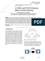 Benefits of HVDC and FACTS Devices Applied in Power Systems