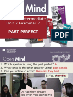 Open Mind Intermediate Unit 02 Grammar 2