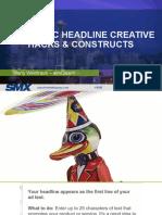 01a 10 Classic Headline Creative Hacks