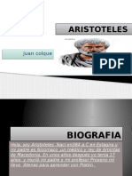 Aristóteles por Juan Colque