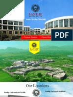 Sandip University Top Leading University In Nashik, Maharashtra